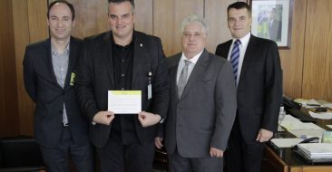 Diretoria do CNB é recebida pela Casa Civil da Presidência da República, em Brasília