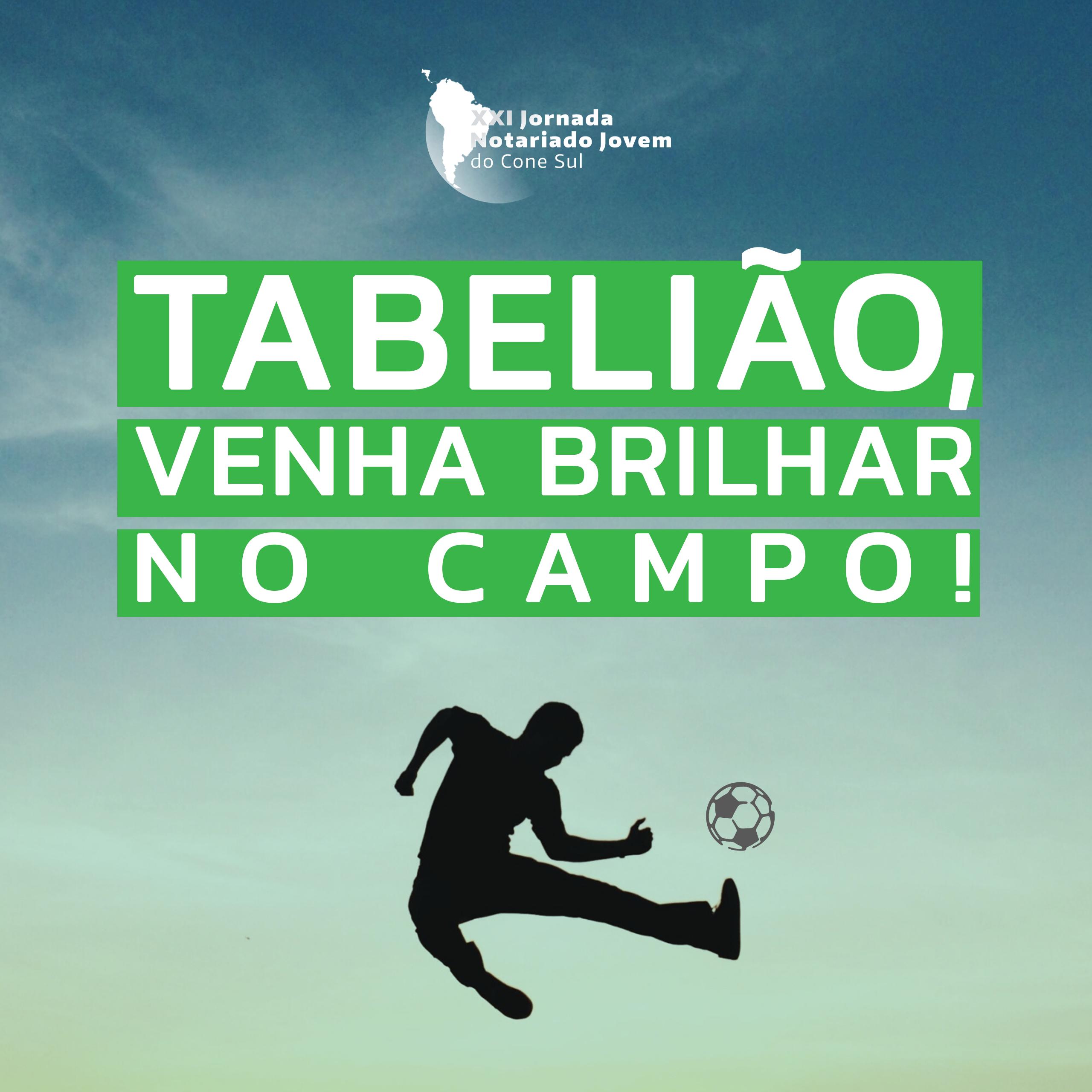 XXI Jornada do Notariado Jovem do Cone Sul promove torneio de futebol internacional entre inscritos