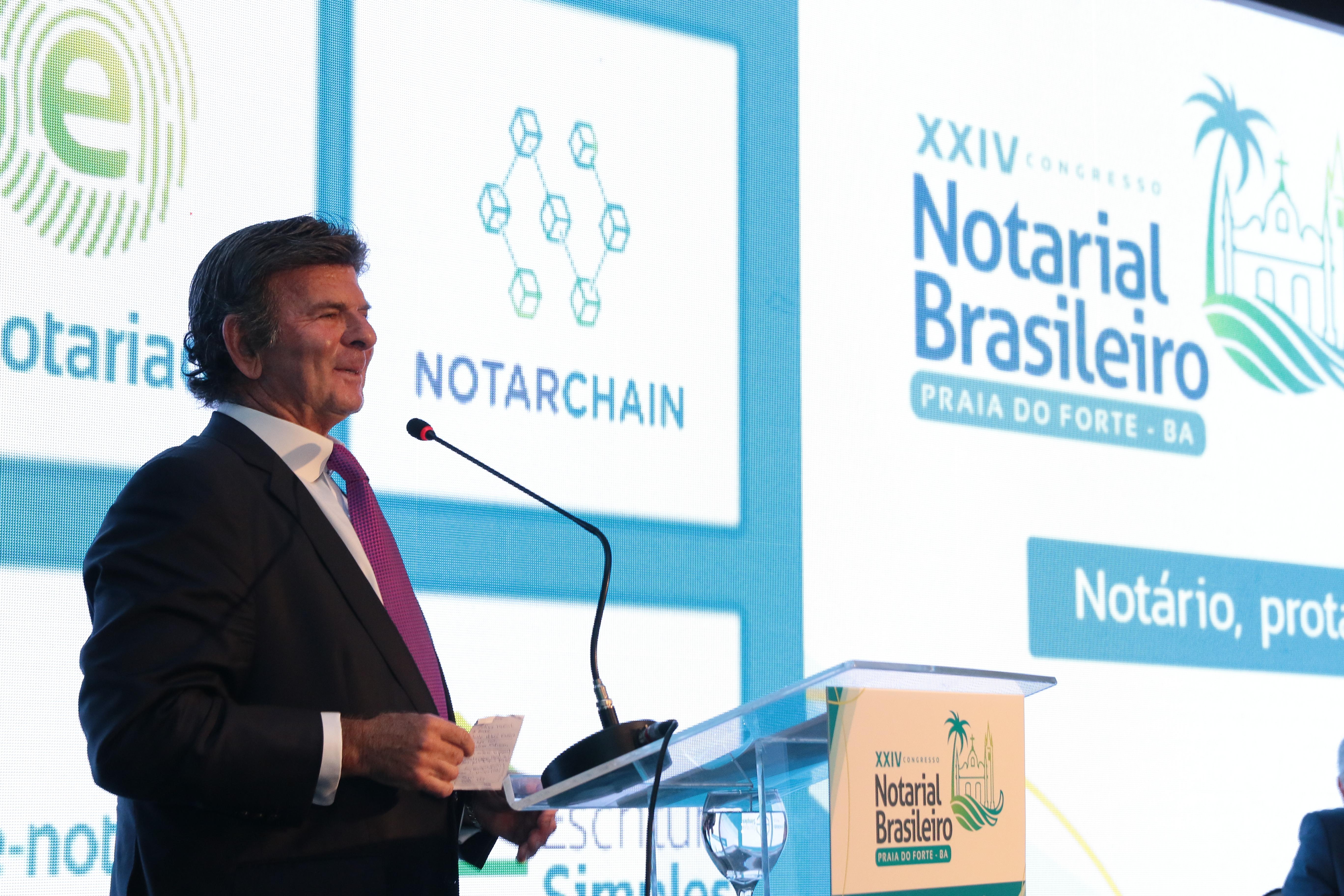 Abertura do XXIV Congresso Notarial Brasileiro destaca o notário como protagonista do futuro