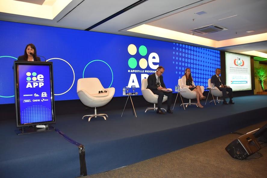 Fórum Internacional da Haia foca na troca de experiências e avanços do e-APP