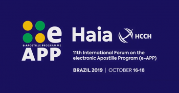Colégio Notarial do Brasil emite certificados digitais e-notariado durante 11º Fórum Internacional do Programa de Apostila Eletrônica da Haia