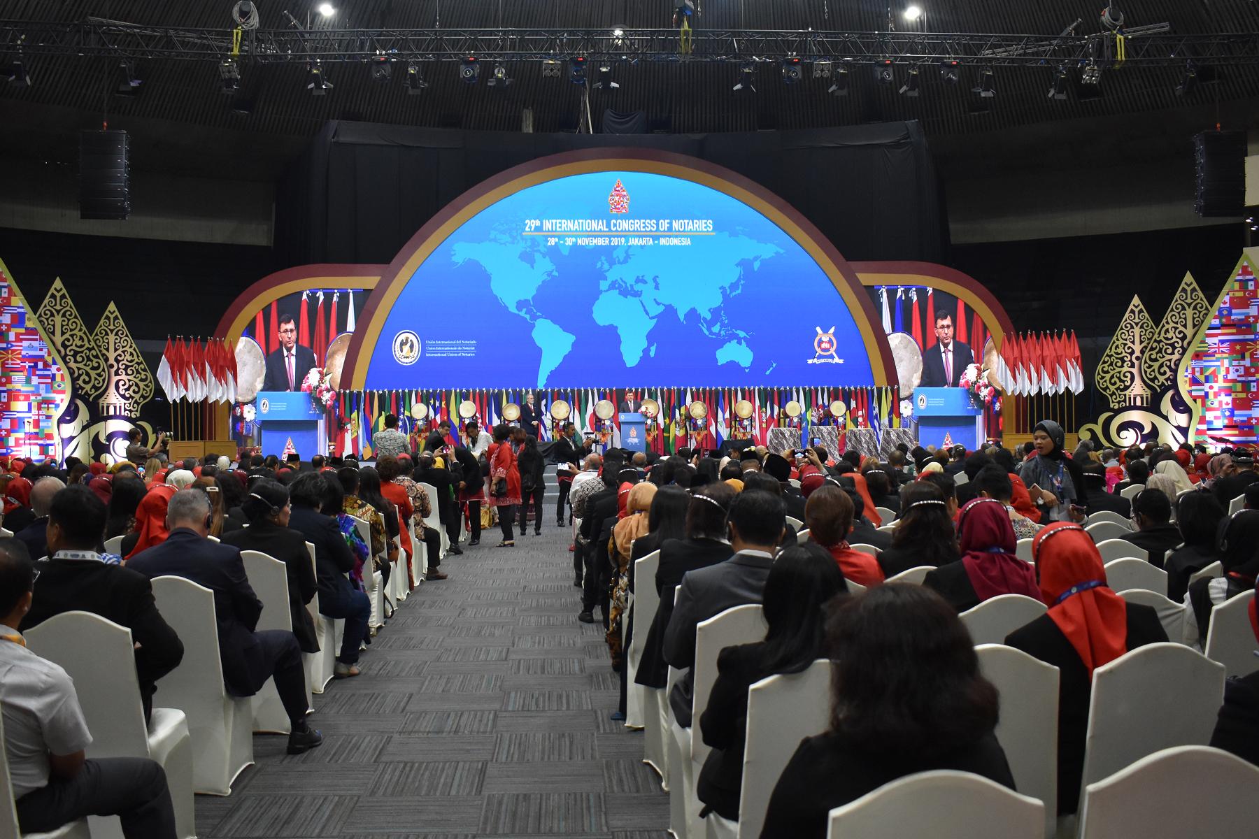 Abertura do 29º Congresso Internacional dos Notários é realizada na Indonésia