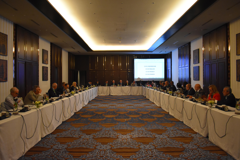 Segundo dia de reuniões institucionais da UINL é marcado por comissões e grupos de trabalho