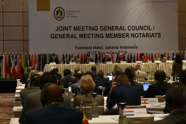 Assembleia do Conselho Geral da UINL é realizada na Indonésia